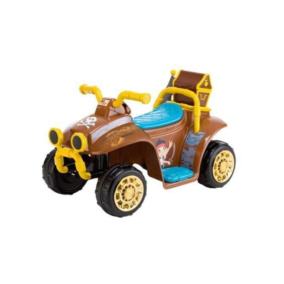 キッドトラックス ディズニー ジェイクとネバーランド 電動自動車 6Vバッテリー付 電気自動車 Kid Trax Disney Jake and the Never Land Pirates Quad 6-Volt Battery-Powered Ride-On