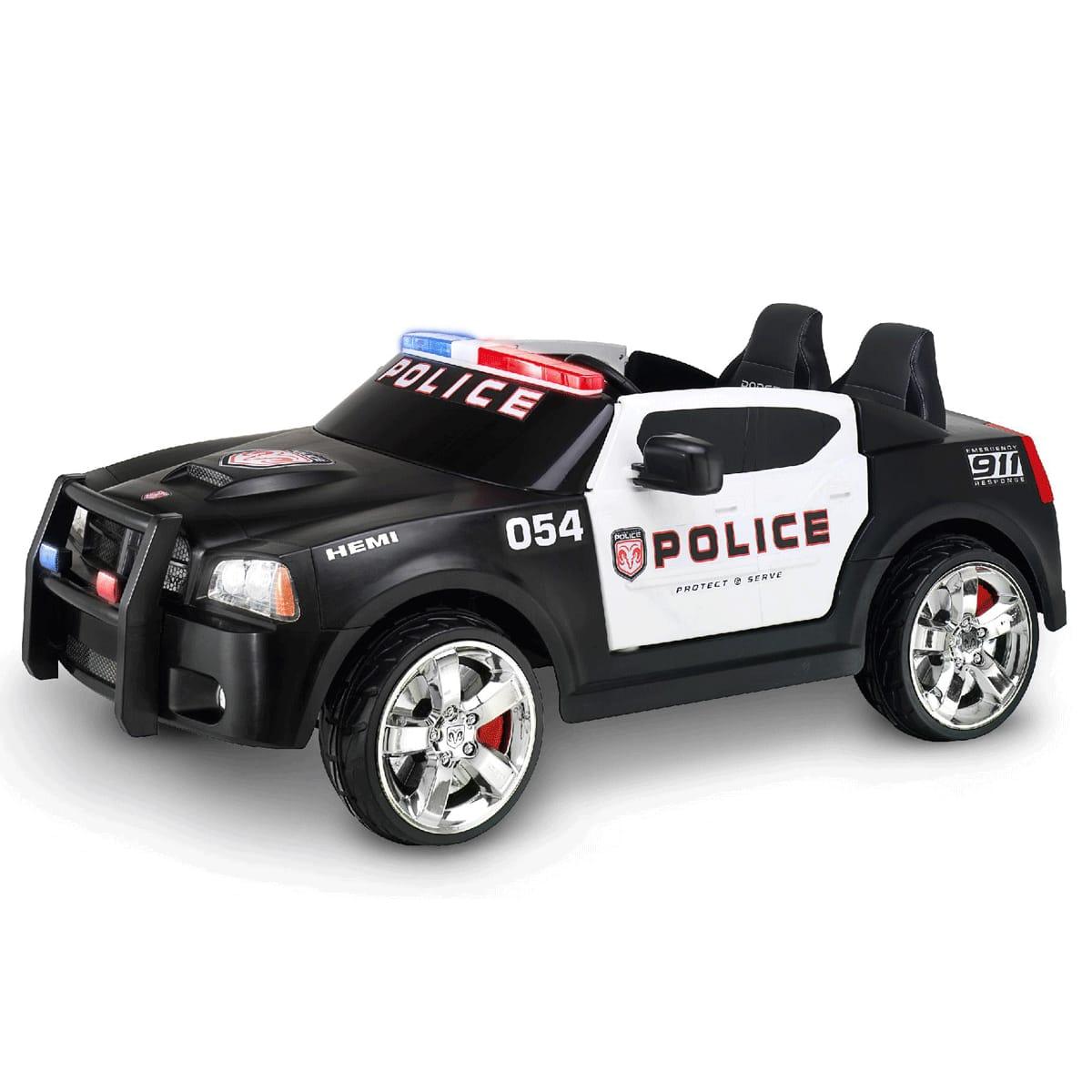 【組立要】キッドトラックス パトカー 12Vバッテリー付 電動自動車 電気自動車Kid Trax 12V Charger Police Car