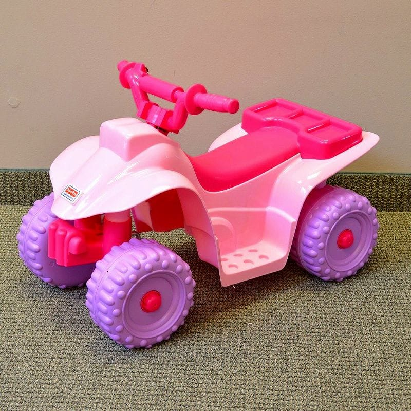 Barbie Children S Electric Car Wheels Lil Quad