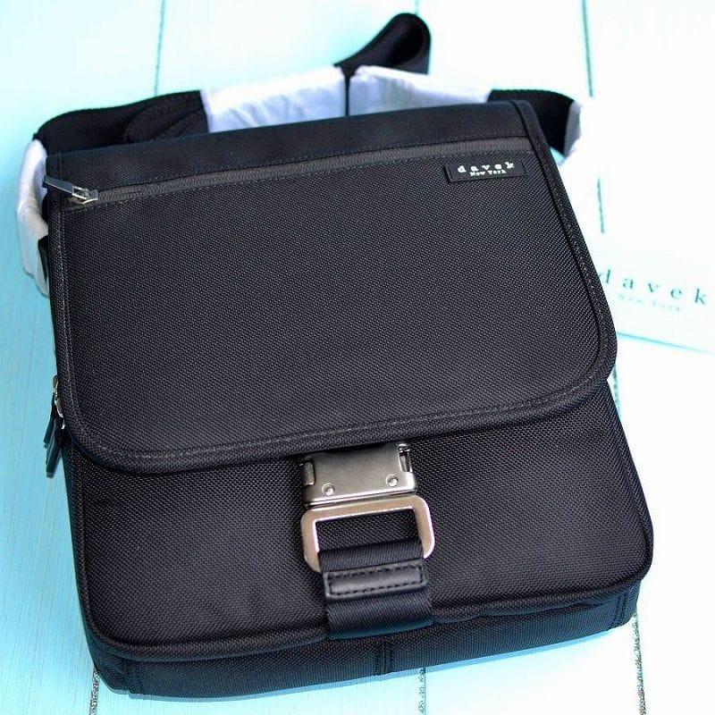 ダベック 弾道ナイロン ノートバッグ ブラック カバン Davek Nylon Note Bag Black ショルダーバッグ メンズバッグ ビジネスバッグ 高級バッグ 鞄 通勤バッグ