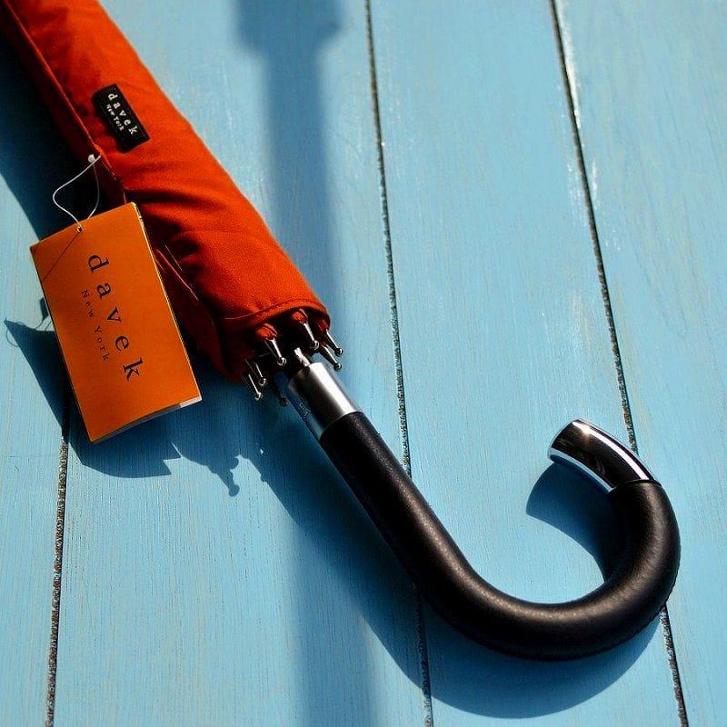 【楽天市場】ダベック エリート 高級ジャンプ雨傘 ロング傘 赤茶色 赤褐色davek Elite Umbrella