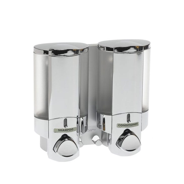 ダブルチャンバーディスペンサー キッチン 洗面化粧台 シャンプーボトルなどに 2色Better Living AVIVA Two Chamber Dispenser