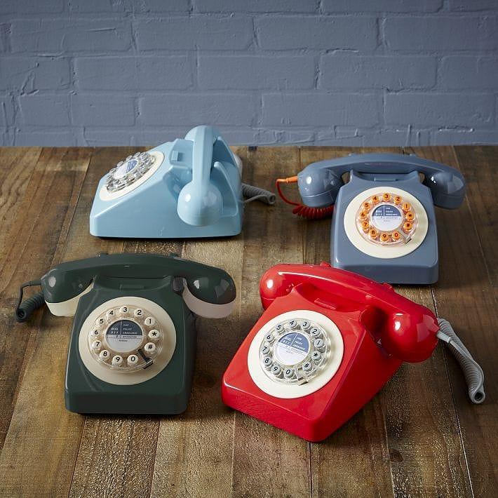アメリカ 1960年代 クラシック レトロ 電話 アンティーク ビンテージ 746 Design Classic Retro Telephone カリフォルニア 西海岸 ホテル