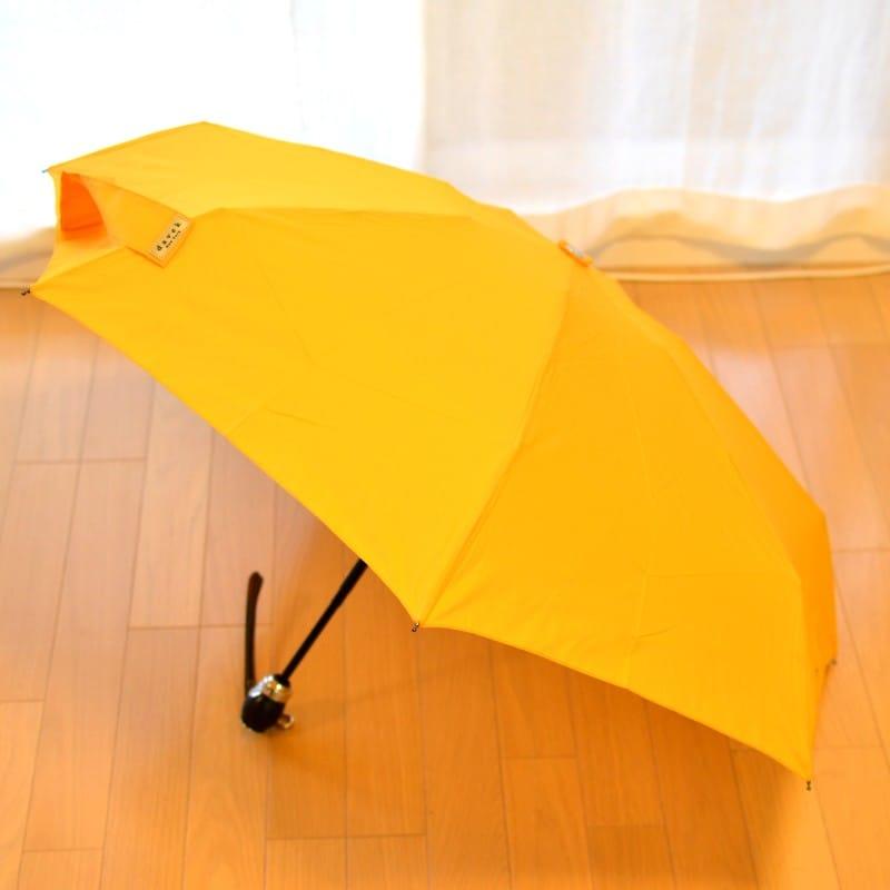 折りたたみ傘 ダべック トラベラー 自動開閉式 雨傘 高級 イエロー 黄 THE DAVEK TRAVELER SUNFLOWER YELLOW Umbrella