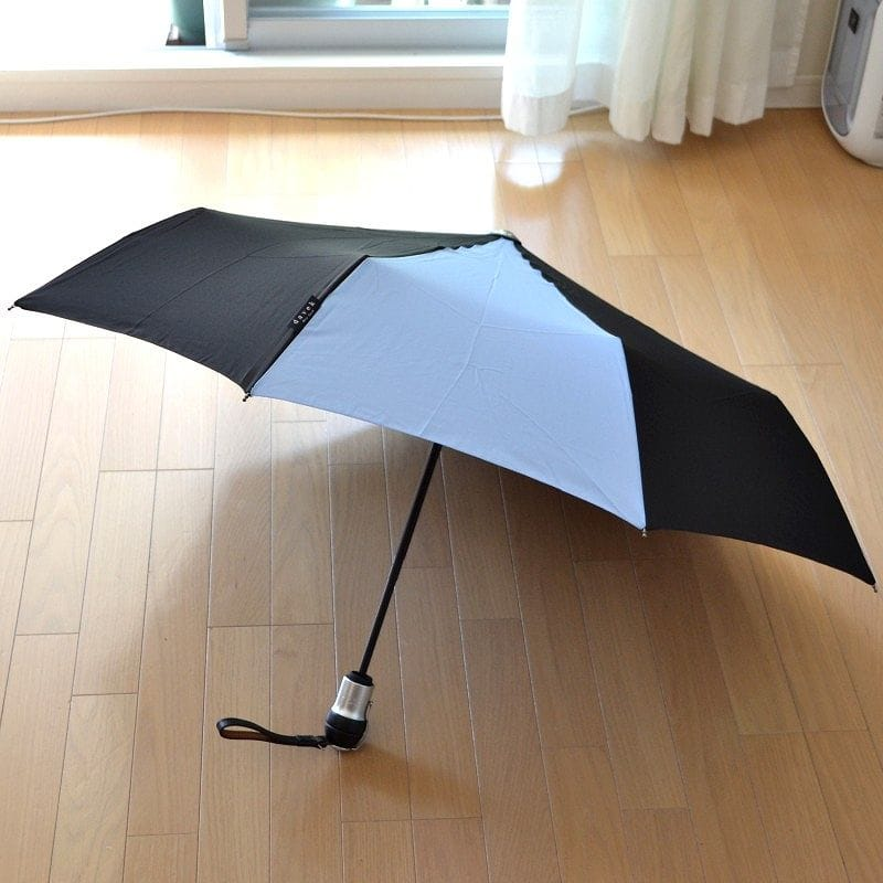 Davek(ダベック)SOLO New York纽约蓝色青毕生高级雨伞保证的