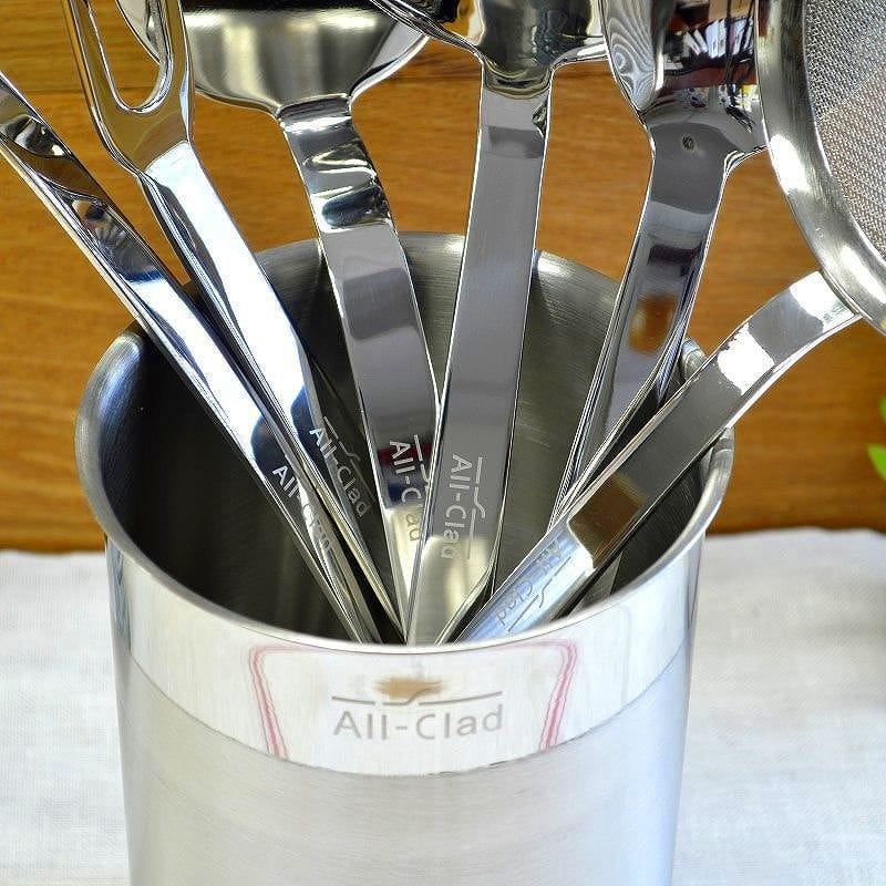 Beau オールクラッド Williams Sonoma Stainless Steel Cooking Utensils Kitchen Tools  7 Point Set Williams Sonoma All Clad Stainless Steel 7 Piece Cooking Tool  Set