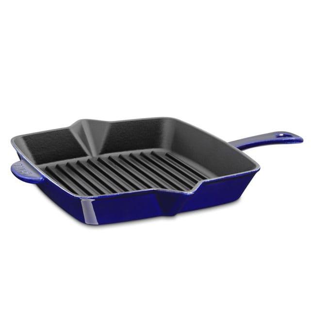 Williams Sonoma Grill Pan Stove Cast 25 4 Cm Staub Iron