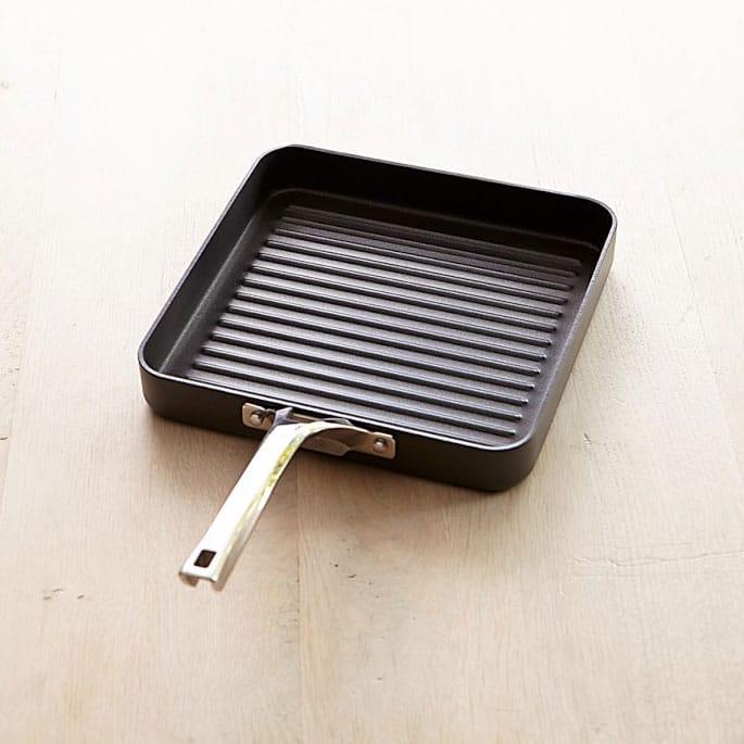 【30日間返金保証】【送料無料】 カルファロン エリート スクエアグリルパン PFOAフリー Calphalon Elite Nonstick Square Grill Pan