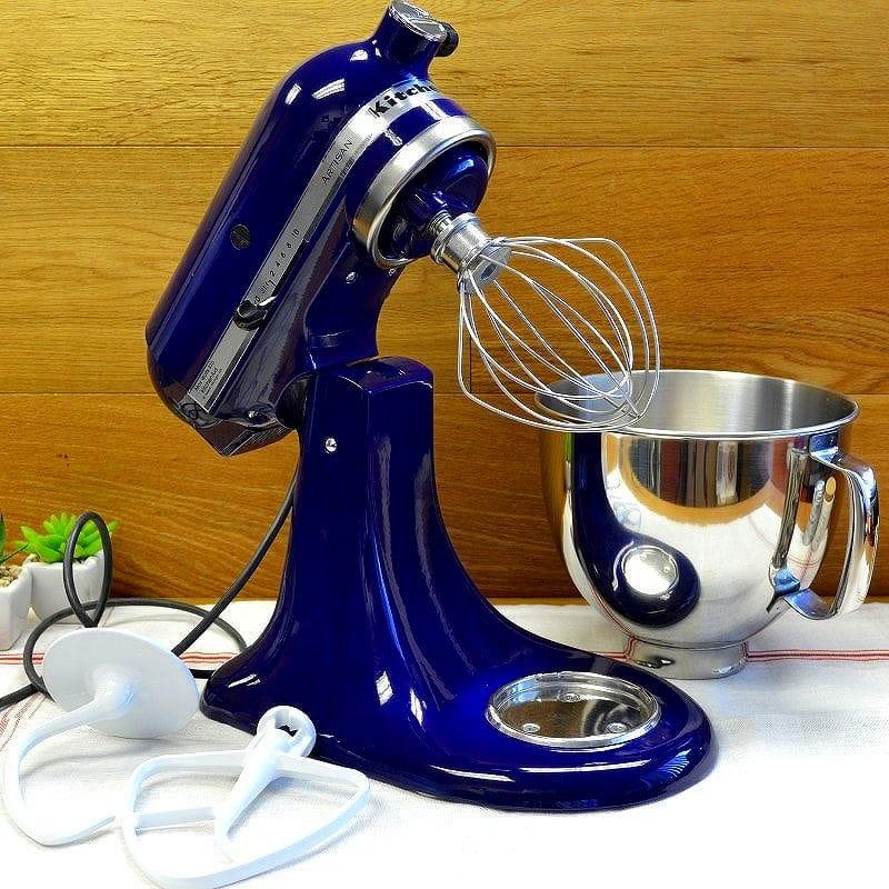 Kitchen aid stands mixer artisan 4.8L cobalt blue KitchenAid Artisan  5-Quart Stand Mixers KSM150PSBU Cobalt Blue household appliance