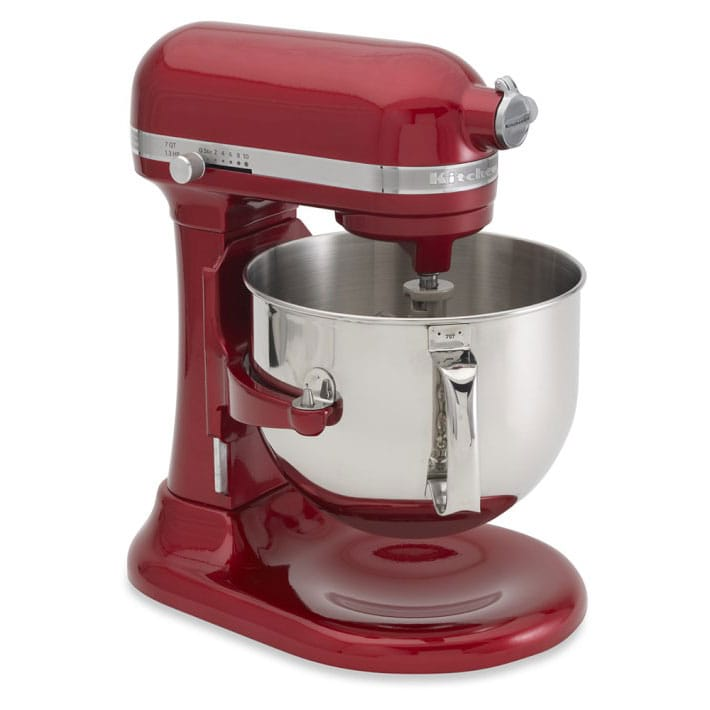 KitchenAid Stand Mixer 6.9 L Large KitchenAid KSM7586 7 Quart Pro Line  Stand Mixer