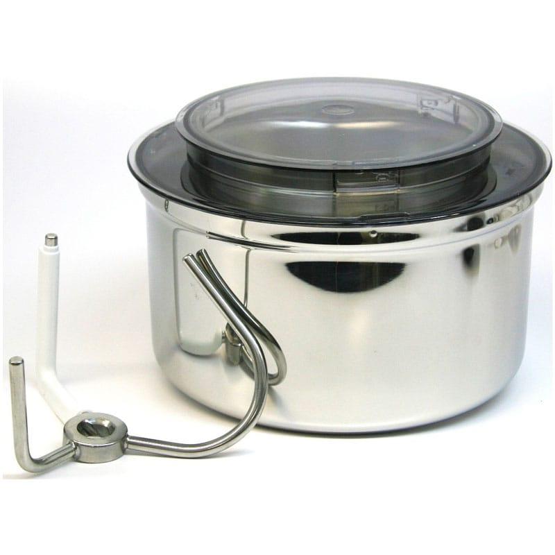ボッシュ ユニバーサル スタンドミキサー用 ステンレスボウル ボトムドライブ付 アタッチメント Universal Stainless Steel Bowl with Bottom Drive for Bosch Universal Mixers MUZ6ER1
