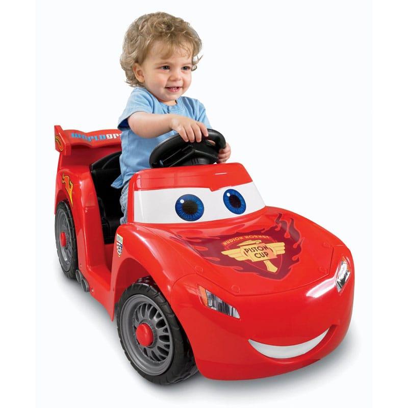 【組立要】パワーホイールディズニー/ピクサーカーズ2 ライトニングマックィーンPower Wheels Disney/Pixar Cars 2 Lil' Lightning McQueen
