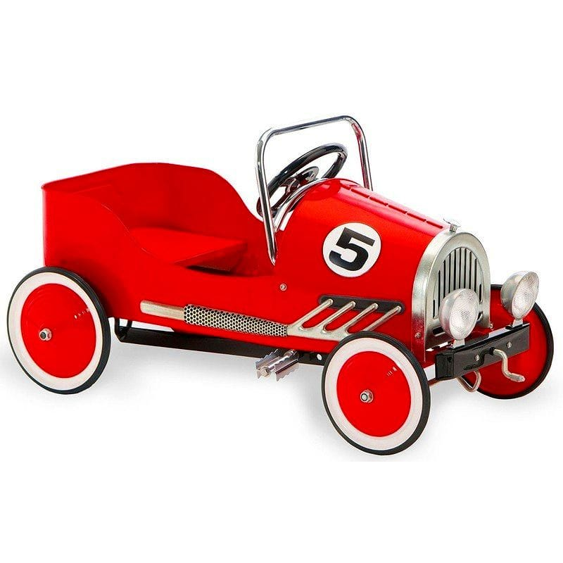 【組立要】 モルガン サイクルレトロスタイルのペダルカー 赤 Morgan Cycle Retro Style Pedal Car・Red