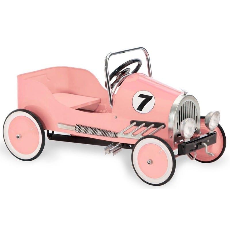 【組立要】 モルガン・サイクルピンクレトロペダルカー Morgan Cycle Pink Retro Pedal Car