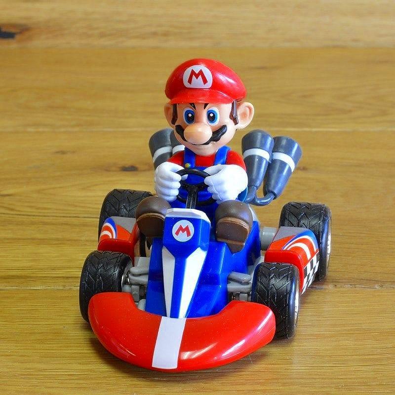 任天堂 マリオ カートラジコン マリオ 実物の24分の1のサイズNintendo Mario Kart Radio Control Mario 1/24th Scale
