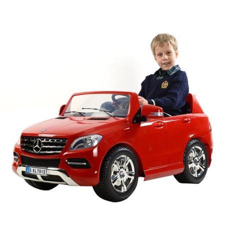 【組立要】カリー メルセデスベンツ 12ボルト バッテリー付電動自動車 W166 対象年齢3才~6才 電気自動車 電動カー Kalee Mercedes-Benz M-Klasse W166 12-Volt Battery-Powered Ride-On, Red