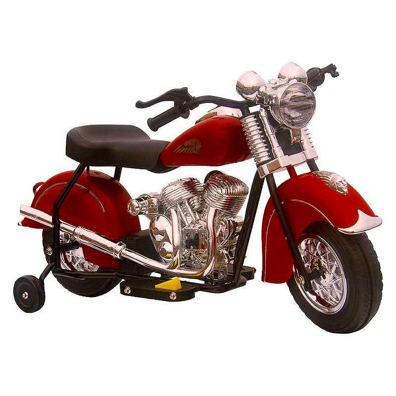 【組立要】リトルビンテージインディアン 6ボルトバッテリー付 電動単車 対象年齢3~4才 電動カー Giggo Toys Little Vintage Indian 6V Battery Powered Motorcycle