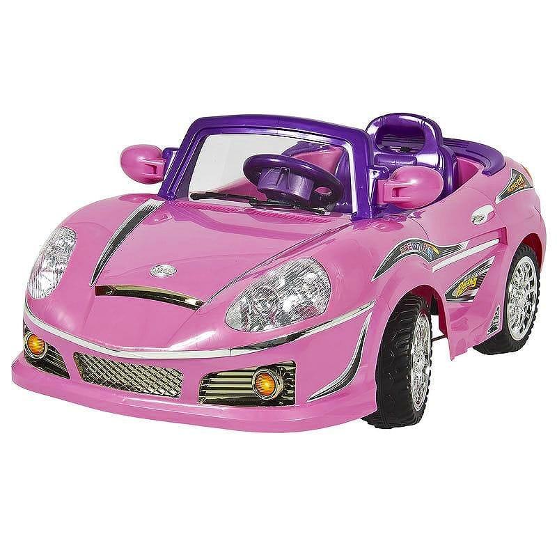 【組立要】ライドオン カーキッズ MP3電池バッテリー パワーリモコン自動車 電動カー Ride On Car Kids W/ MP3 Electric Battery Power Remote Control RC Pink