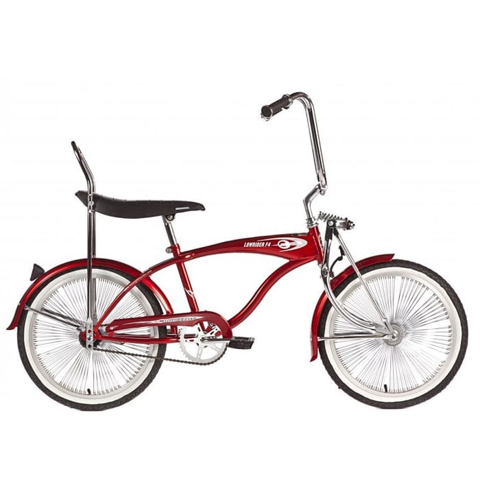 F4 low rider bike 20 inch red Micargi F4 Lowrider