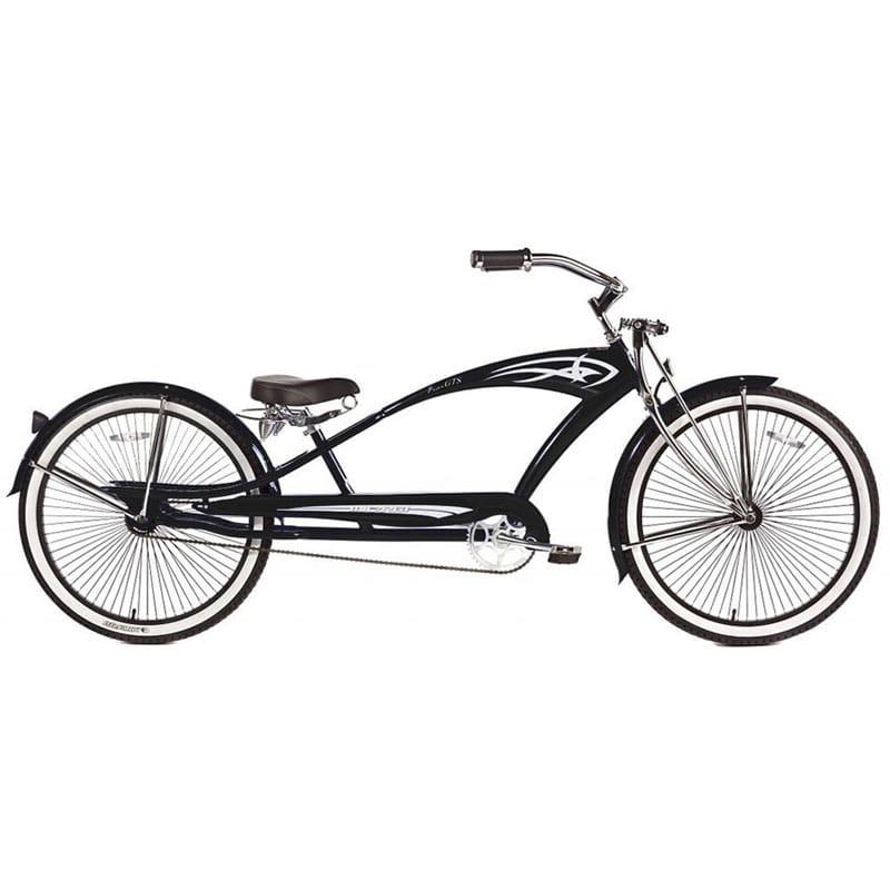 ビーチクルーザーバイク 自転車 26インチ 12才以上Micargi GTS Beach Cruiser Bike, Black Puma, 26-Inch