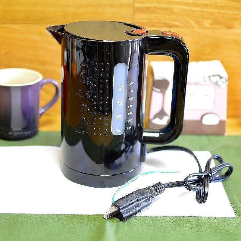 alphaespace bodum bistro 34 ounce cordless electric water kettle black 11154 01us bodum. Black Bedroom Furniture Sets. Home Design Ideas