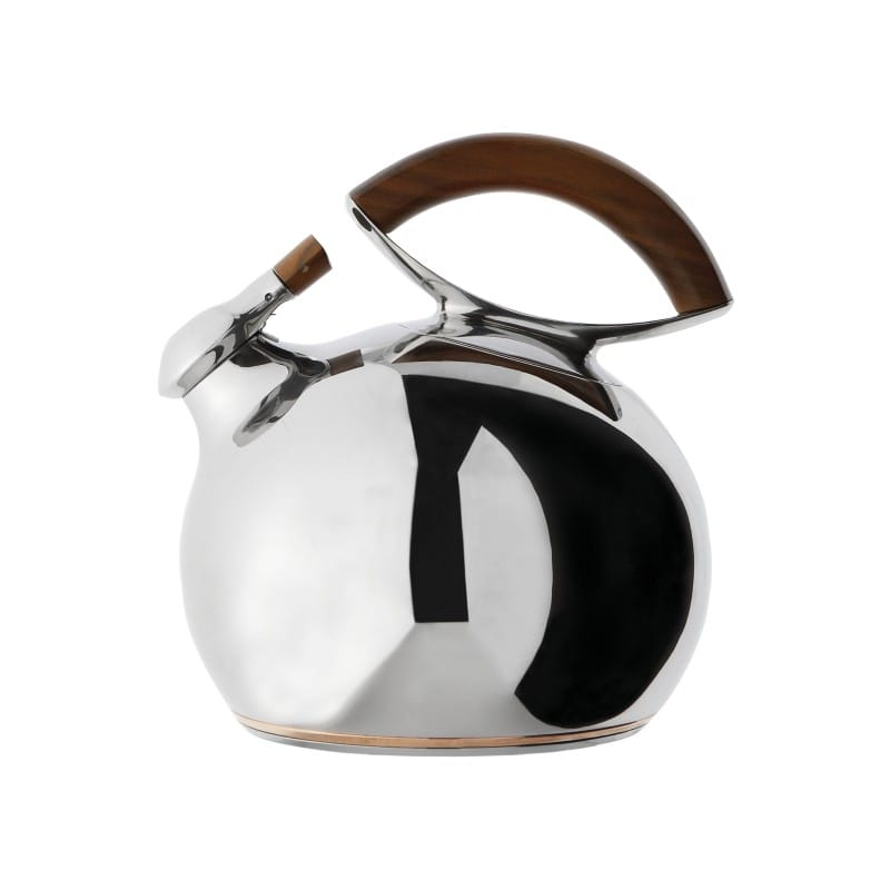 ナンべ ケトル やかんNambe Bulbo Kettle, Stainless Steel and Wood