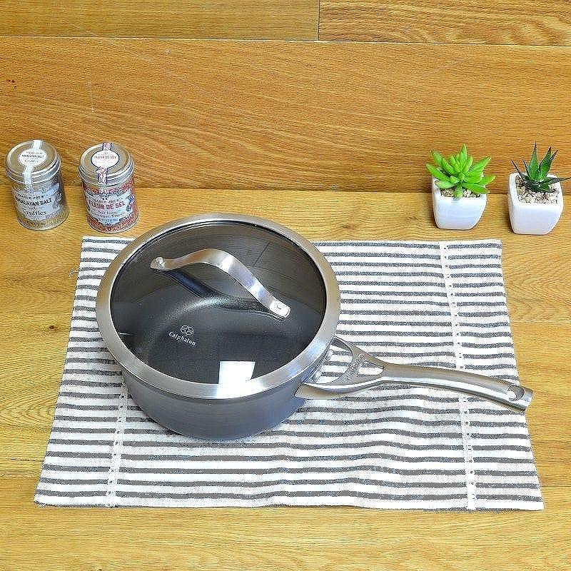 カルファロン 2.3L ノンスティック・ソースパン・フタ付片手鍋 2.5QTCalphalon Contemporary Nonstick Sauce Pan with Cover 2.5 Quart