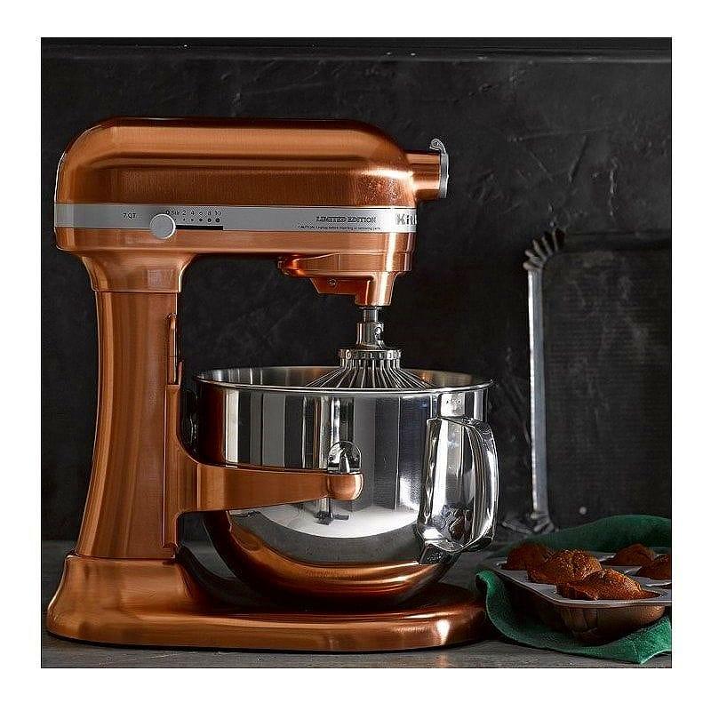 ウイリアムズ・ソノマ キッチンエイド スタンドミキサー 銅メッキ Williams-Sonoma KitchenAid Pro Line Copper Stand Mixer, 7 Qt. 家電