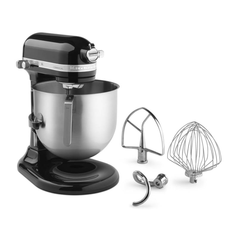 Duties quality KitchenAid KSM8990 8-Qt Commercial Bowl-Lift Stand Mixer  household appliance mounted with a kitchen aid stands mixer commercial  series ...