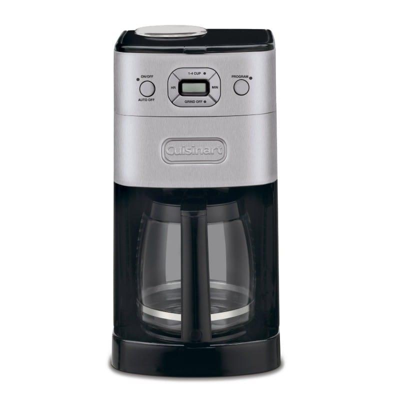 クイジナート コーヒーメーカー DGB-625BC ガラス 豆挽き付 12カップ Cuisinart DGB-625BC Grind-and-Brew 12-Cup Automatic Coffeemaker 家電