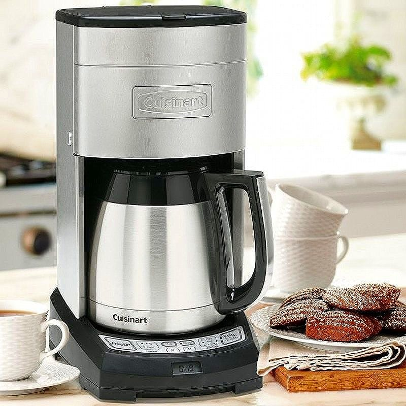 Williams Sonoma Cuisinart Coffee Maker 10 Cup Extreme Brew Elite With Thermal Carafe