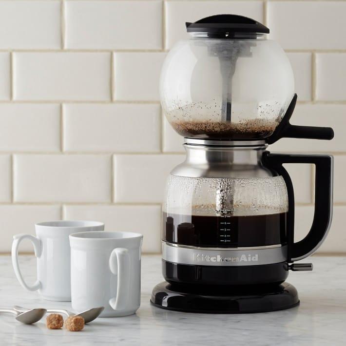 ウィリアムズソノマ キッチンエイド サイフォン コーヒーメーカー ブリューワーWilliams-Sonoma KitchenAid Siphon Coffee Brewer 家電