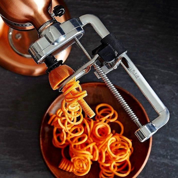キッチンエイド スパイラライザー スタンドミキサー用 Spiralizer カッター アタッチメント Attachment カッター KitchenAid KSM1APC Spiralizer Attachment, キジョウチョウ:eb8ac006 --- sunward.msk.ru