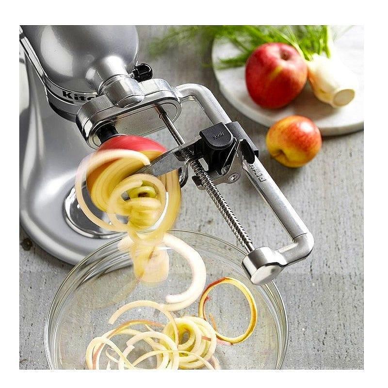 Alphaespace Kitchenaid Spiralizer Attachment Kitchenaid Ksm1apc