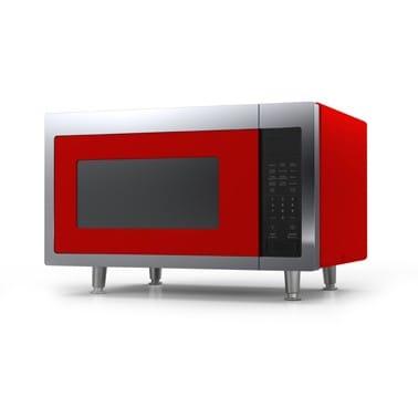 ビックチリ レトロ電子レンジ チェリーレッド Big Chill Retro Microwave Cherry Red【日本語説明書付】 家電