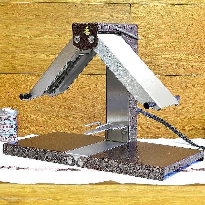 ブロン-コーク クォーターラウンドラクレットマシーン 1/4サイズ 業務用品質 Bron-Coucke Quarter Round Raclette Machine チーズを溶かす専用ヒーター スイス料理 家電