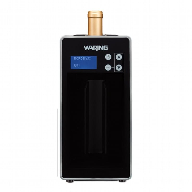 waring single bottle wine chiller