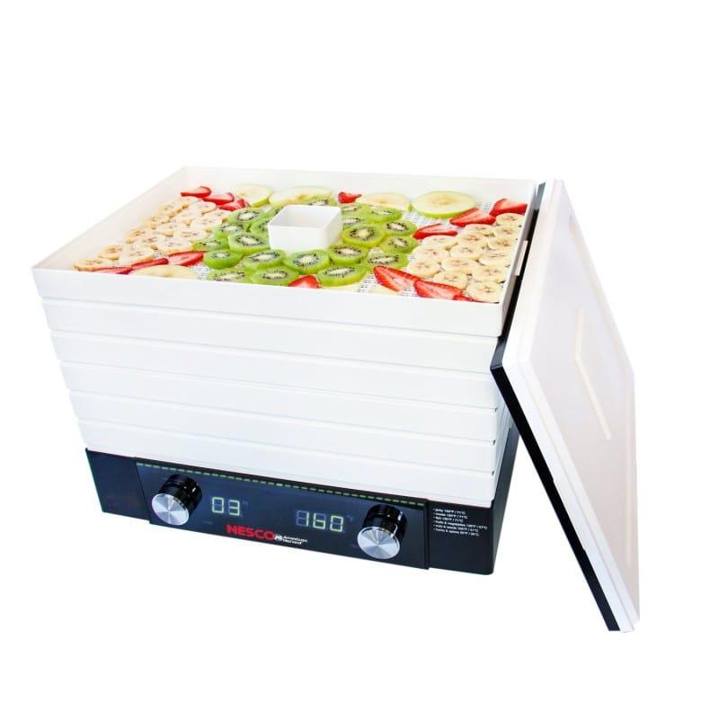 ネスコ デジタル食品乾燥機 ドライフルーツ ディハイドレーター 24時間タイマー付Nesco FD-2000 Digital Square Dehydrator, 530-watt, White