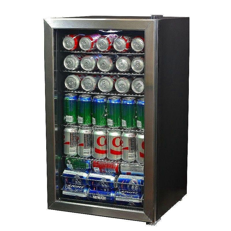 ニューエアー ビバレッジクーラー 126缶 冷蔵庫NewAir 126-Can Beverage Cooler AB-1200