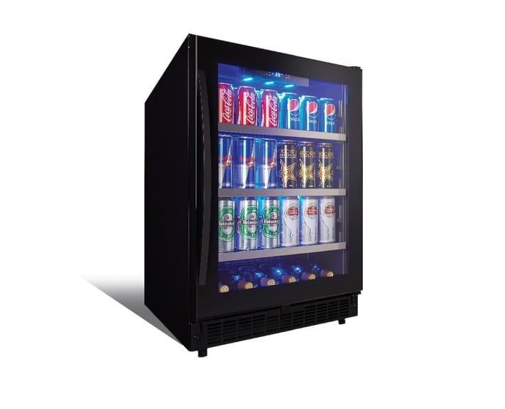 ダンビー シルエット ビルトイン冷蔵庫 プラハ Danby Silhouette SSBC056D2B PRAGUE 家電