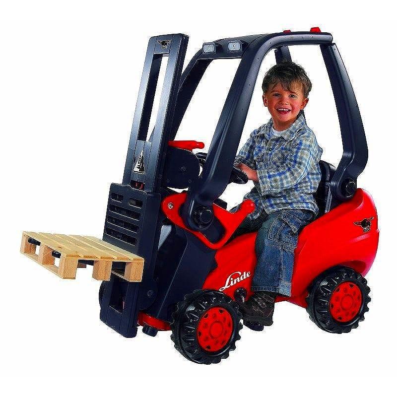 子供用ペダル式フォークリフト Big Kids Play Vehicles Linde Forklift 800056580