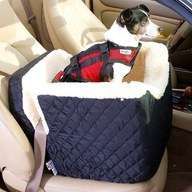 スヌーザー ペット用 カーシート ミディアム Snoozer Lookout Car Seat Midium