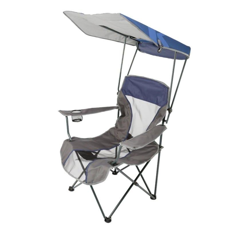 日傘付折り畳み椅子 日焼け対策 ビーチ チェア 野外フェス 運動会 キャンプに最適 Kelsyus Original Canopy Chair