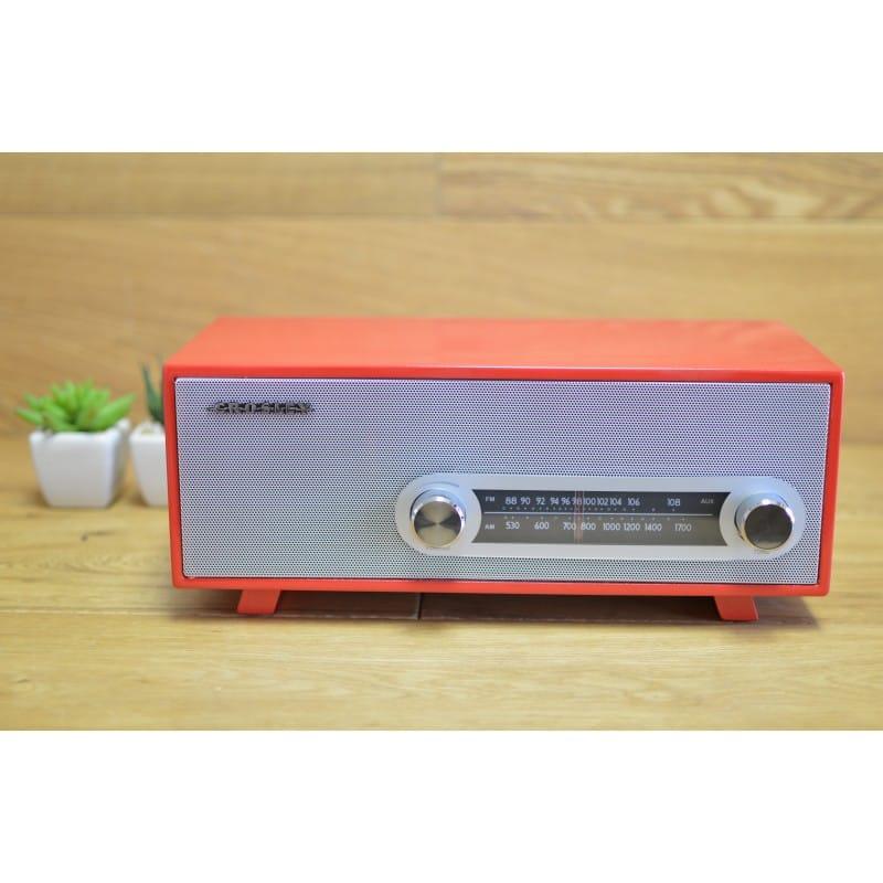 クロスリー アンティーク FM/AMラジオ レッド 赤Crosley Ranchero Radio Red CR3022A-RD, ユウキシ:223e3fbb --- fdc89.jp