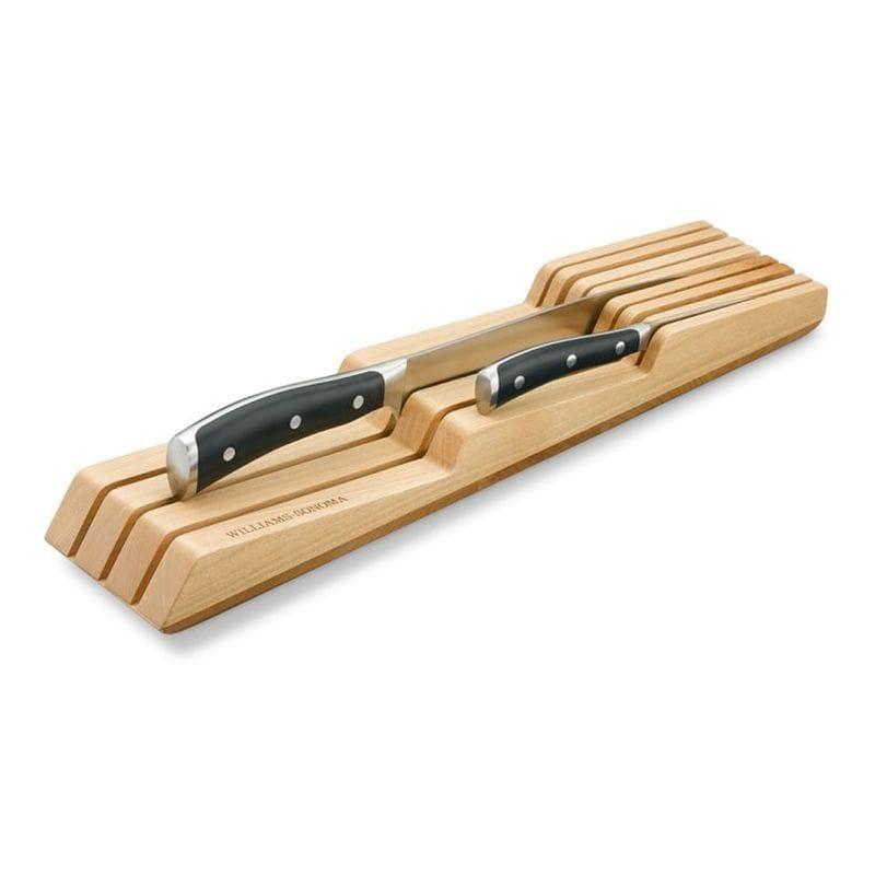 ウイリアムズ ソノマ 包丁 ナイフ オーガナイザー Williams-Sonoma In-Drawer 7-Slot Knife Organizer