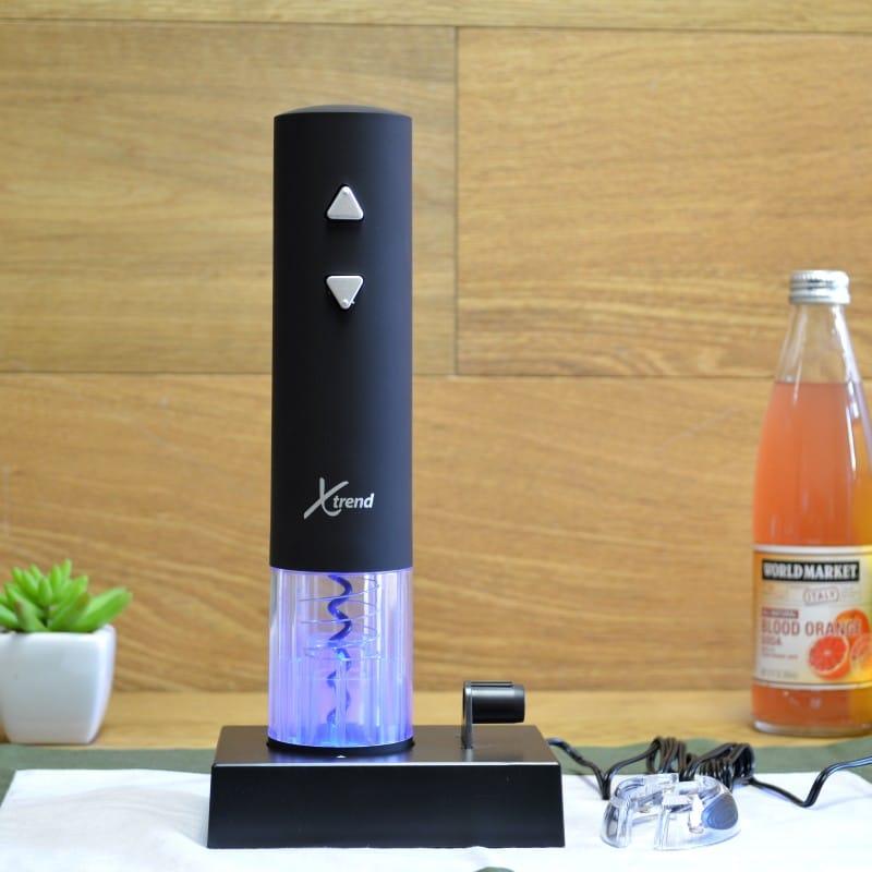 エックストレンド 電動 コードレス ワインオープナー Xtrend Rechargable Electric Wine Bottle Opener