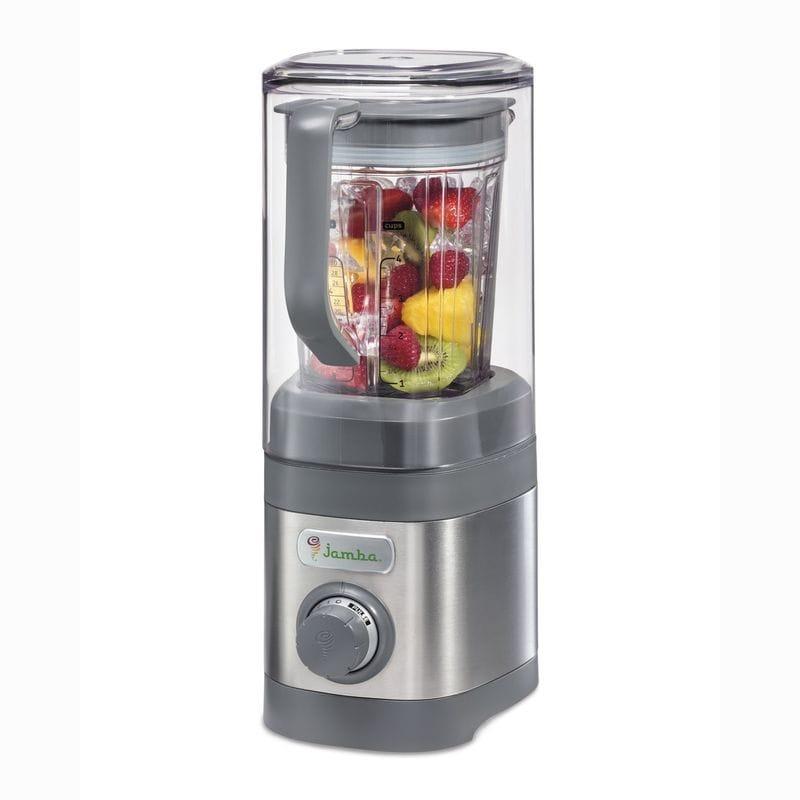ジャンバジュース ブレンダー ミキサー Jamba Appliances 58915 Quiet Shield Blender Jar, 32 oz, Gray 家電