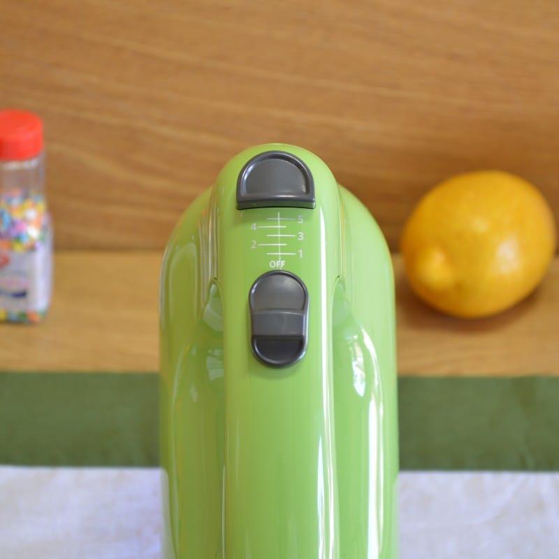 KitchenAid hand mixer 5 speed switch Green Apple KitchenAid KHM512GA5-Speed  Ultra Power Hand Mixer, Green Apple