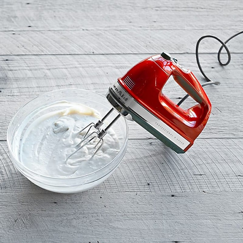 【ウィリアムズソノマ限定】キッチンエイド ハンドミキサー 9段階スピード調整KitchenAid 9-Speed Professional Hand Mixer 家電