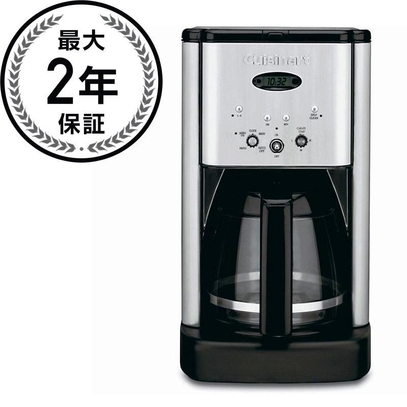 クイジナートコーヒーメーカー ステンレス 12カップブラック Cuisinart DCC-1200 12-Cup Brew Central Coffeemaker, Black and Stainless Steel 家電